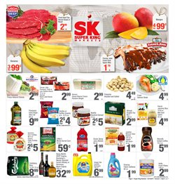 Grocery & Drug deals in the Super King Markets weekly ad in Yorba Linda CA