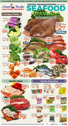 Christmas deals in the Island Pacific Market weekly ad in Fontana CA