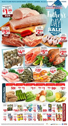Table deals in the Island Pacific Market weekly ad in Garden Grove CA