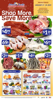Potatoes deals in the Island Pacific Market weekly ad in Van Nuys CA