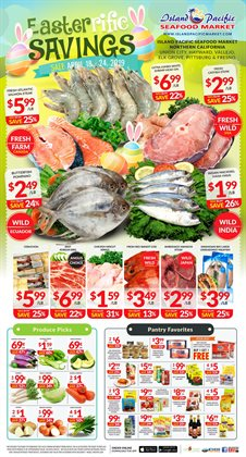 Grocery & Drug deals in the Island Pacific Market weekly ad in Simi Valley CA