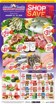 Grocery & Drug deals in the Island Pacific Market weekly ad in Santa Clara CA