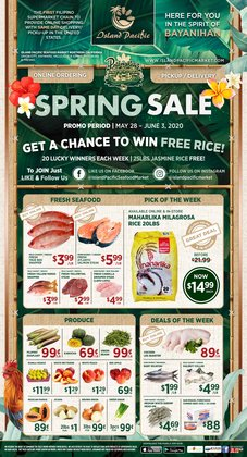 Grocery & Drug offers in the Island Pacific Market catalogue in Sacramento CA ( Published today )