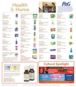 Fabric softener deals in the Gelson's weekly ad in Tustin CA
