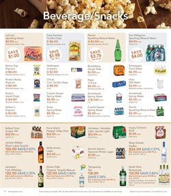 Popcorn deals in the Gelson's weekly ad in Los Angeles CA