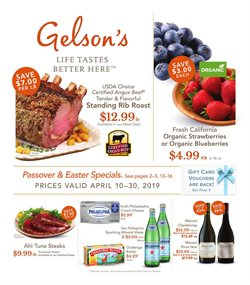 Gelson's deals in the Reseda CA weekly ad