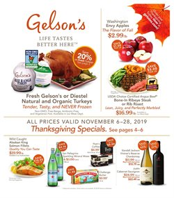Gelson's deals in the Long Beach CA weekly ad