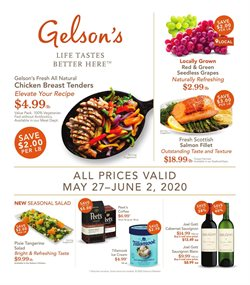 Gelson's catalogue in Long Beach CA ( Expires tomorrow )