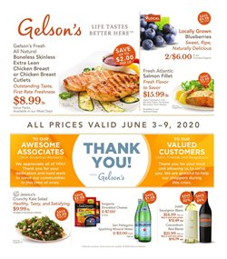 Gelson's catalogue in Los Angeles CA ( Published today )