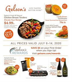 Gelson's catalogue in Los Angeles CA ( Expires today )