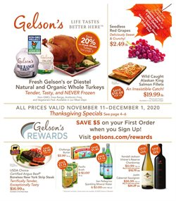 Gelson's catalogue ( Expired )
