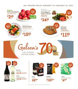 Gelson's catalogue ( Expires tomorrow )