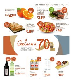 Gelson's catalogue ( 1 day ago )