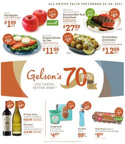 Gelson's deals in the Gelson's catalog ( Expires today)