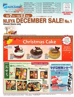 Nijiya Market deals in the Honolulu HI weekly ad