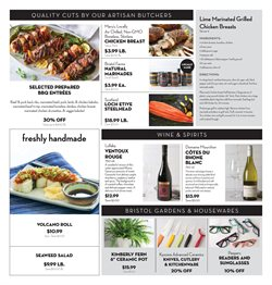 Makeup deals in the Bristol Farms weekly ad in San Jose CA