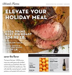 Bristol Farms deals in the Van Nuys CA weekly ad