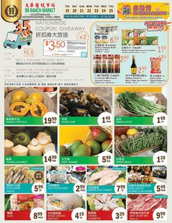 99 Ranch deals in the Seattle WA weekly ad