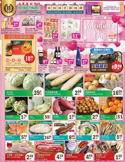 Grocery & Drug offers in the 99 Ranch catalogue in San Francisco CA ( Expires tomorrow )