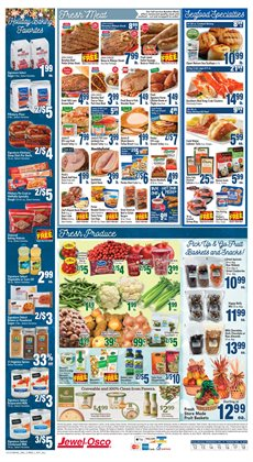 Salad deals in the Jewel-Osco weekly ad in Chicago IL