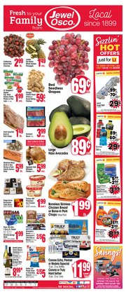 Grocery & Drug offers in the Jewel-Osco catalogue in Naperville IL ( 1 day ago )