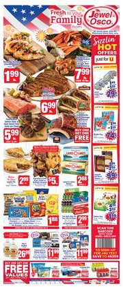 Grocery & Drug offers in the Jewel-Osco catalogue in Wheaton IL ( 2 days left )