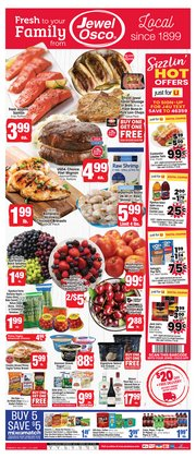 Grocery & Drug offers in the Jewel-Osco catalogue in Lombard IL ( Expires tomorrow )