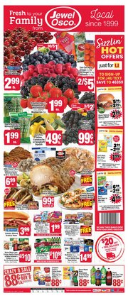 Grocery & Drug offers in the Jewel-Osco catalogue in Valparaiso IN ( 2 days ago )