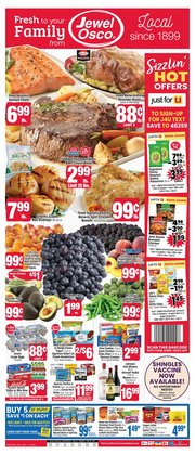 Jewel-Osco catalogue ( 2 days ago )