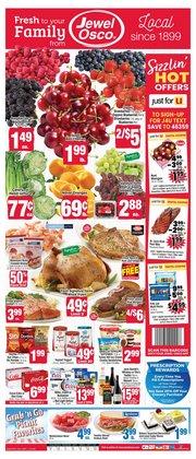Grocery & Drug deals in the Jewel-Osco catalog ( Expires tomorrow)