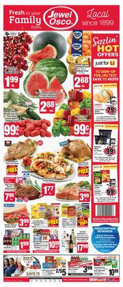 Grocery & Drug deals in the Jewel-Osco catalog ( Expires today)