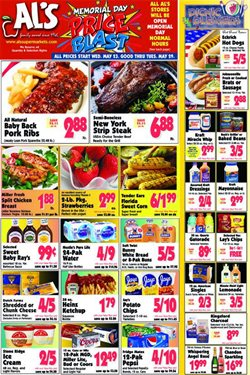 Al's Supermarket deals in the Michigan City IN weekly ad