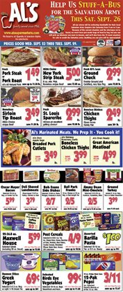 Grocery & Drug offers in the Al's Supermarket catalogue in Valparaiso IN ( Expires today )