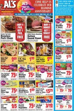 Grocery & Drug deals in the Al's Supermarket catalog ( 2 days left)