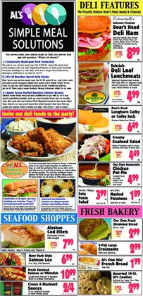 Al's Supermarket deals in the Crown Point IN weekly ad