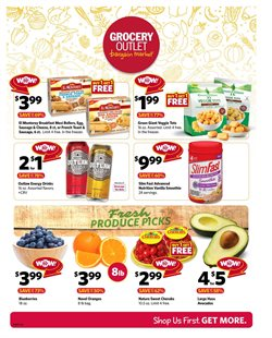 Discount Stores deals in the Grocery Outlet weekly ad in San Francisco CA