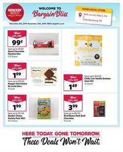 Grocery Outlet deals in the San Francisco CA weekly ad