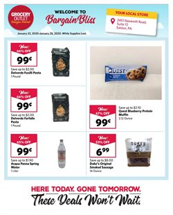 Discount Stores deals in the Grocery Outlet weekly ad in Berkeley CA