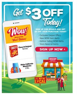 Grocery Outlet catalogue ( Expires tomorrow )