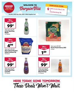 Discount Stores offers in the Grocery Outlet catalogue in San Francisco CA ( 1 day ago )