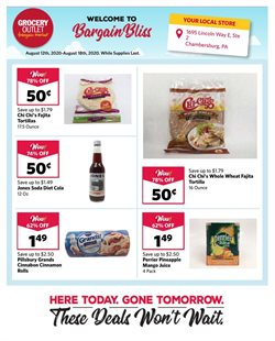 Grocery Outlet catalogue in San Francisco CA ( 3 days left )