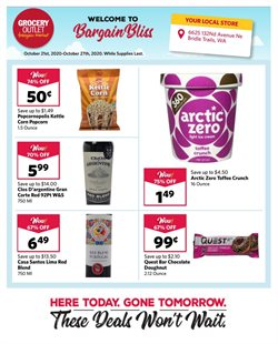 Grocery Outlet catalogue ( Published today )