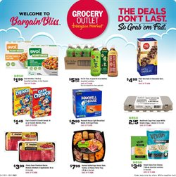 Discount Stores offers in the Grocery Outlet catalogue in Daly City CA ( Expires today )