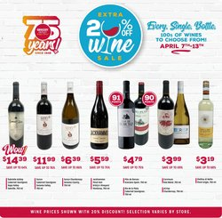 Discount Stores offers in the Grocery Outlet catalogue in San Francisco CA ( 3 days left )