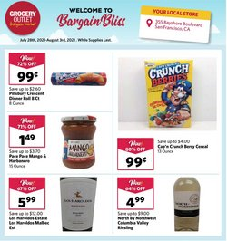 Grocery Outlet deals in the Grocery Outlet catalog ( Published today)