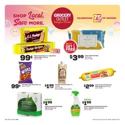 Discount Stores deals in the Grocery Outlet catalog ( 3 days left)