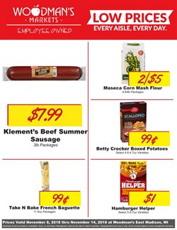 Woodman's deals in the Madison WI weekly ad