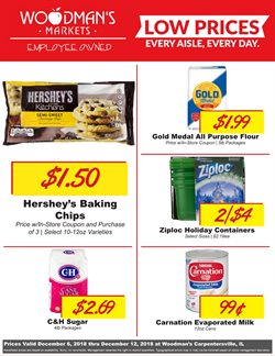 Woodman's deals in the Elgin IL weekly ad