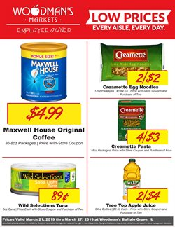 Woodman's deals in the Palatine IL weekly ad
