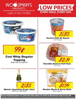 Grocery & Drug deals in the Woodman's weekly ad in Racine WI